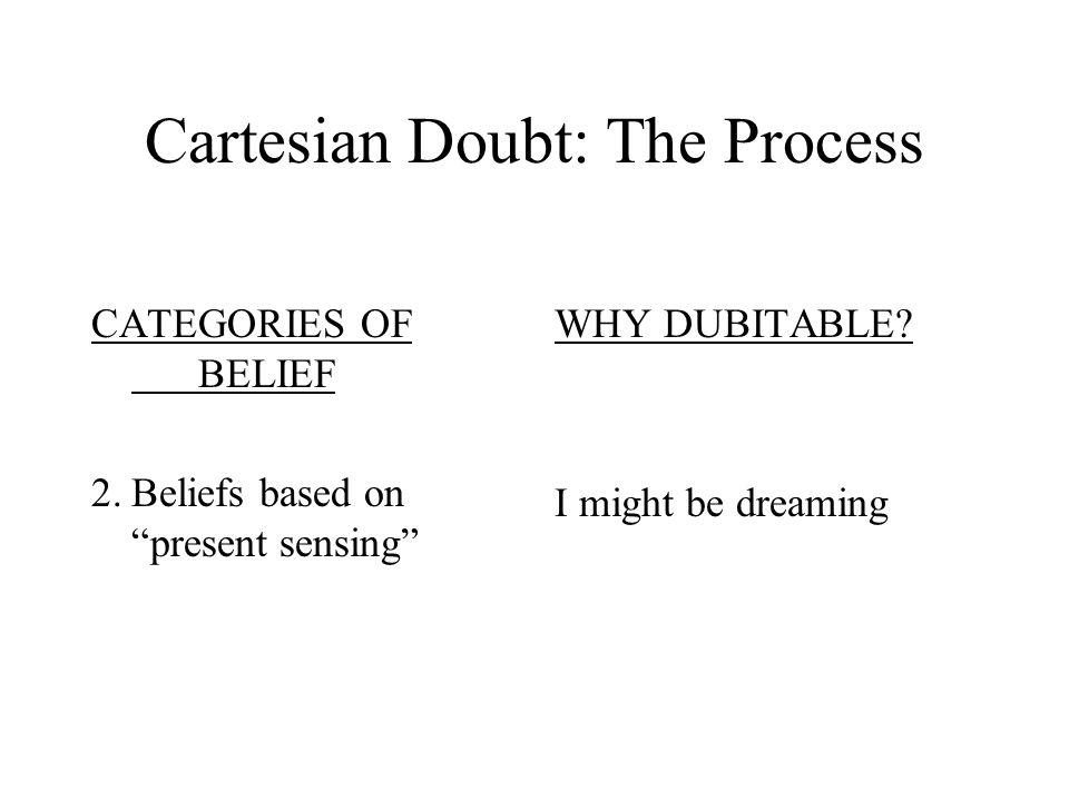 Cartesian Doubt: The Process
