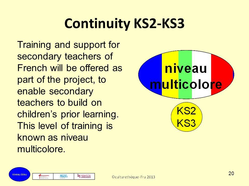 Continuity KS2-KS3