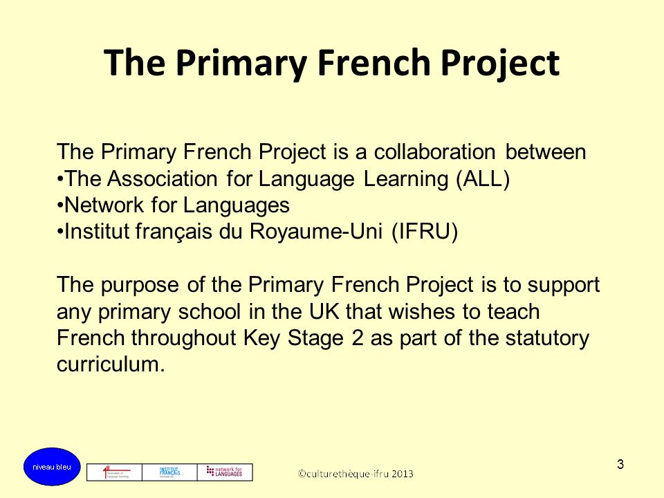The Primary French Project