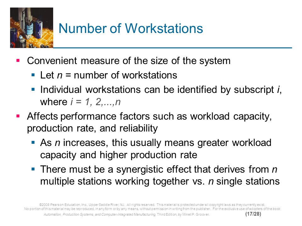 Number of Workstations