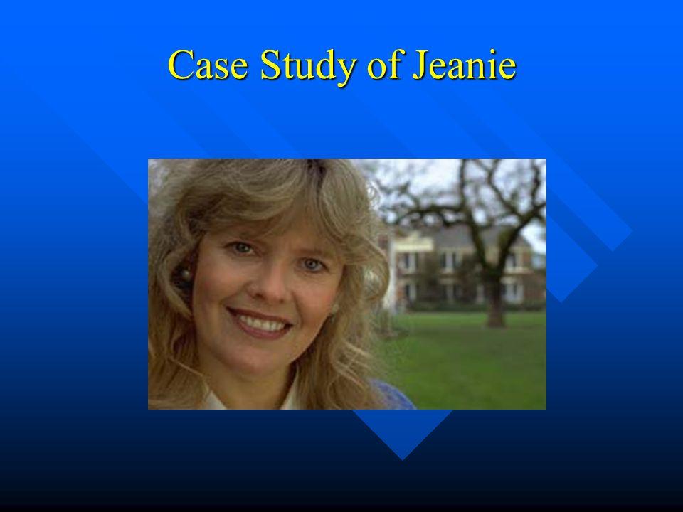 Case Study of Jeanie