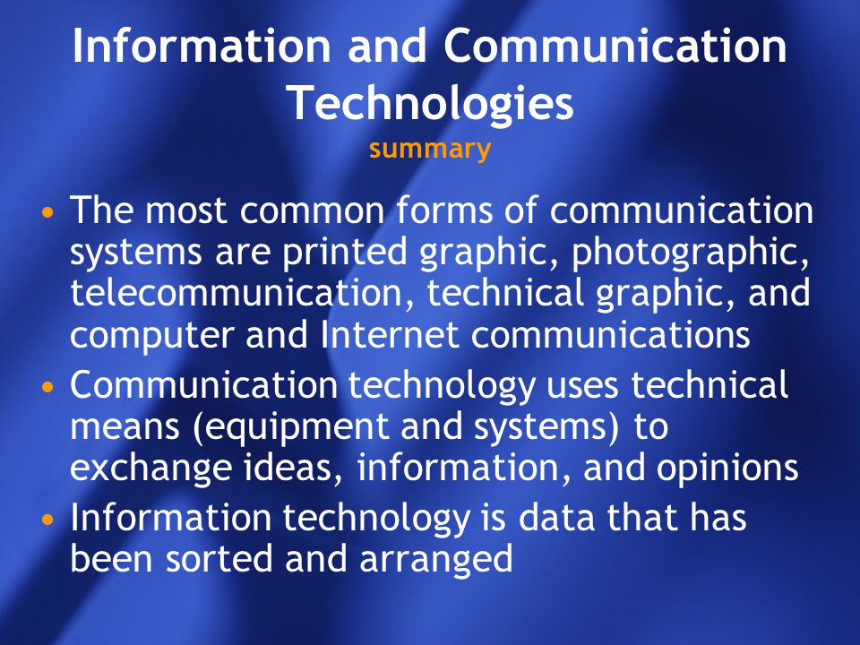 information technology summary I am an experienced and knowledgeable information technology professional seeking to contribute my training and acquired skills within a tier-1 technical support and/or help desk role i work well independently as well as in group settings where i am skilled at contributing to the team i am adept at providing all facets of computer support such as troubleshooting, installations, and maintenance.