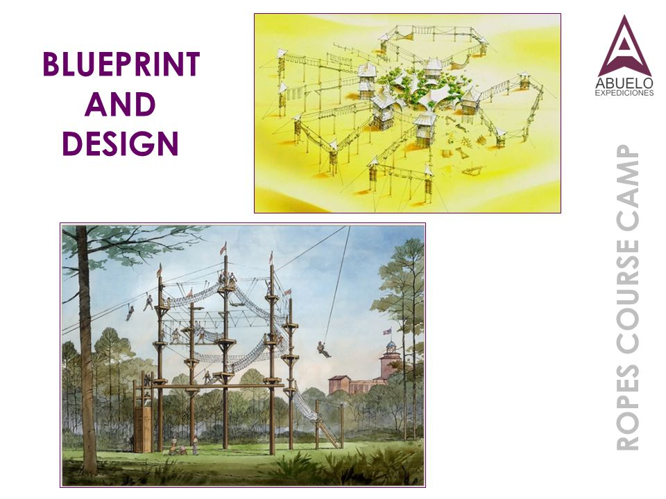BLUEPRINT AND DESIGN ROPES COURSE CAMP