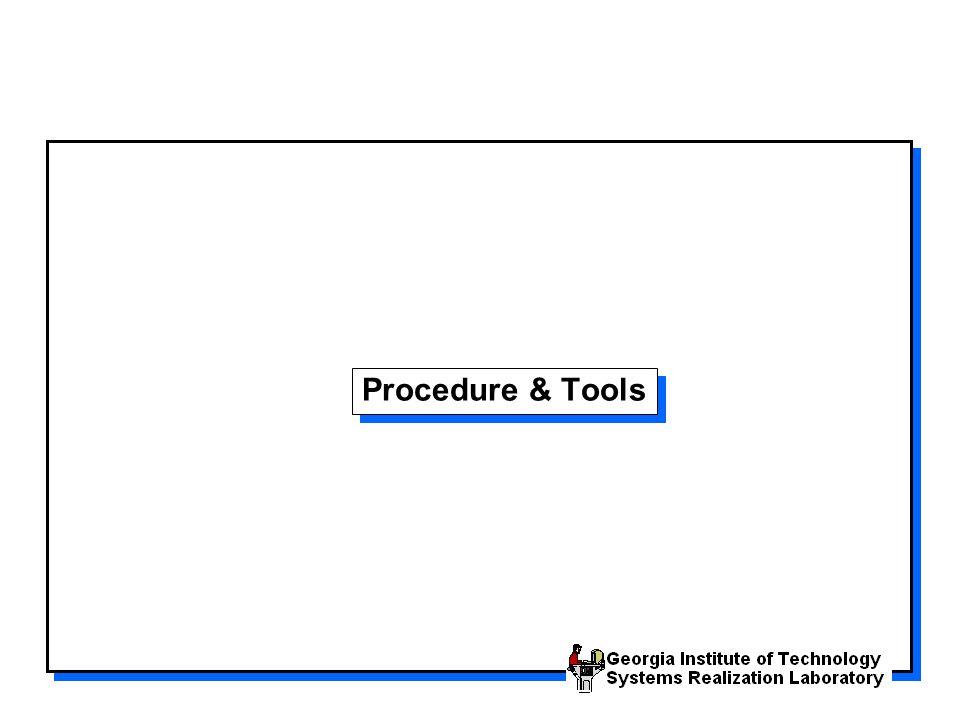 Procedure & Tools