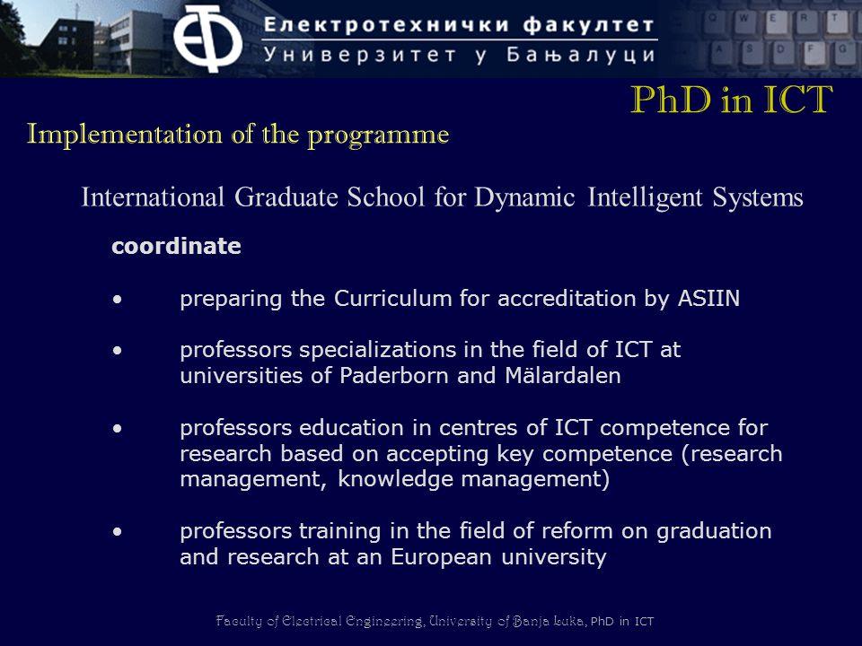 International Graduate School for Dynamic Intelligent Systems