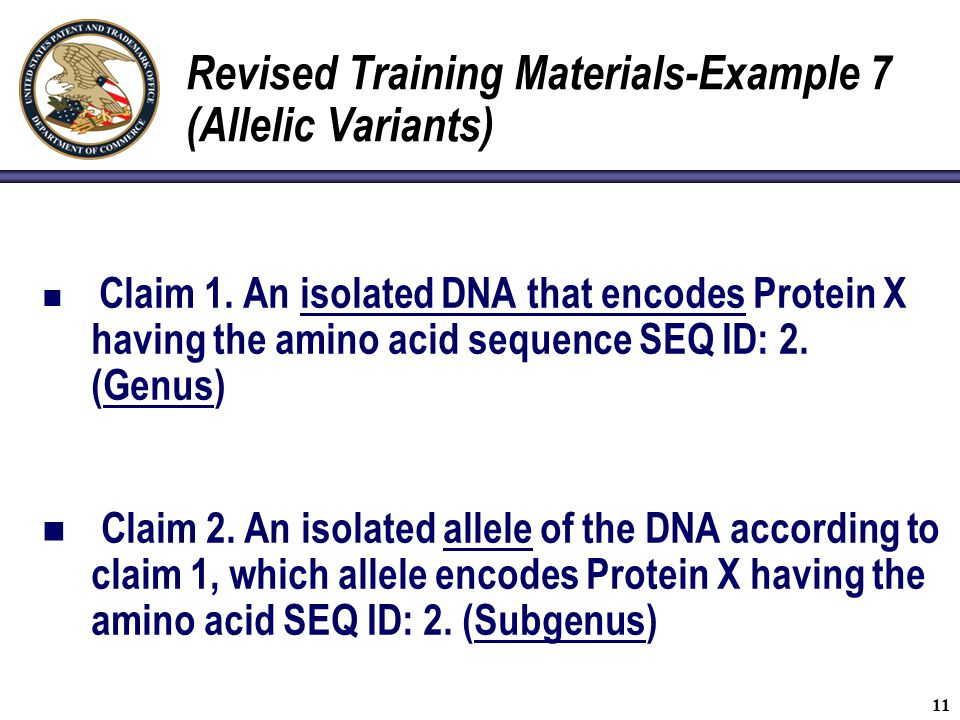 Revised Training Materials-Example 7 (Allelic Variants)