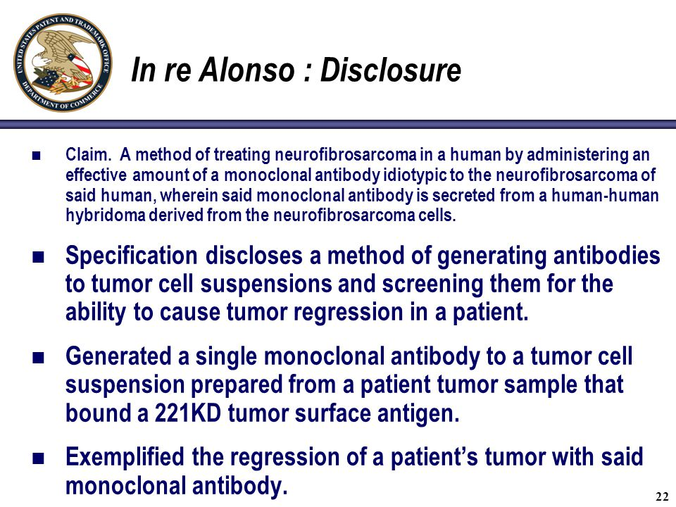 In re Alonso : Disclosure