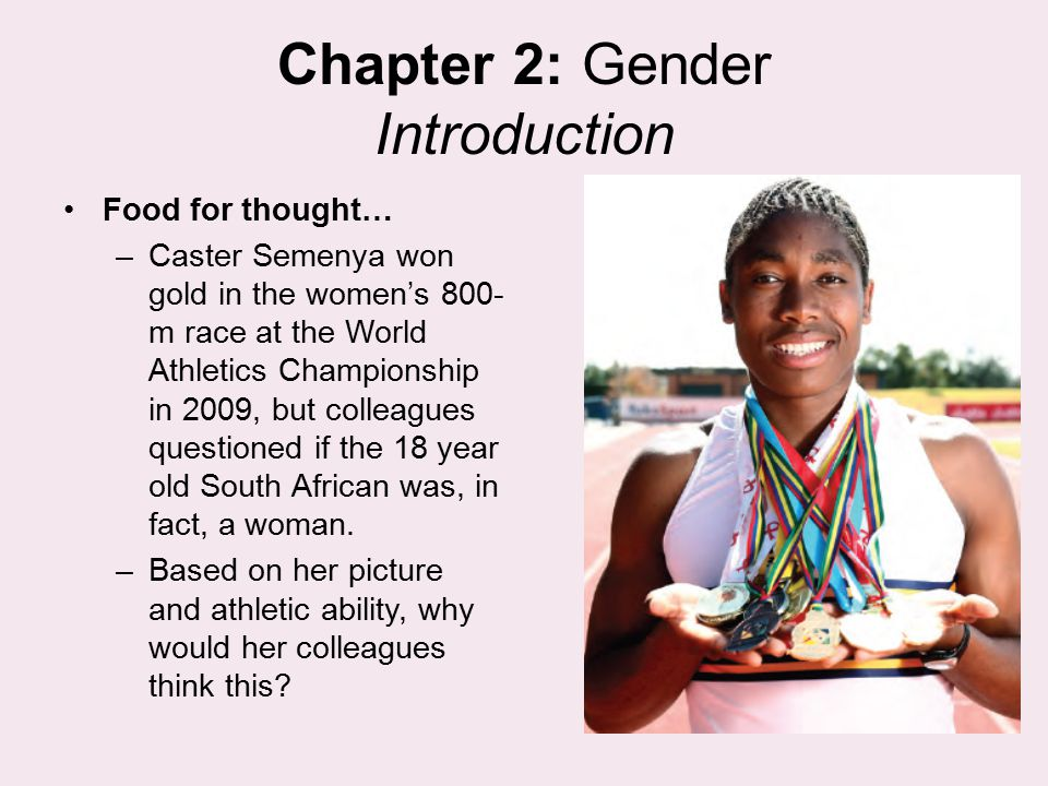 Chapter 2: Gender Introduction