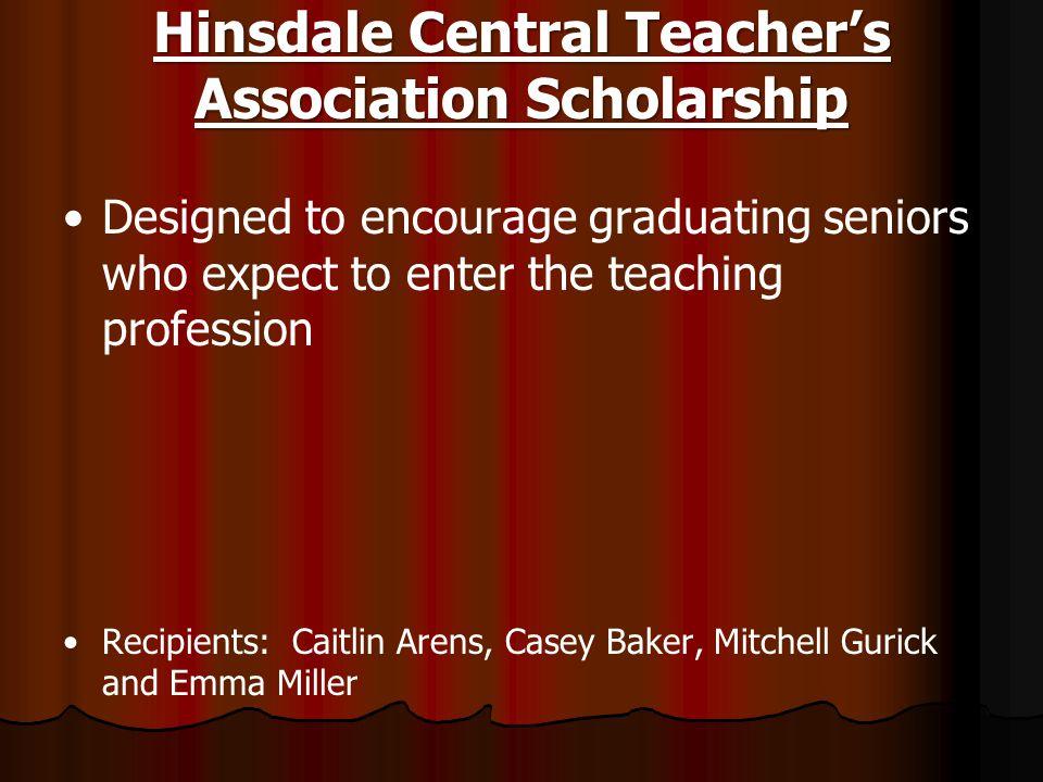 Hinsdale Central Teacher's Association Scholarship