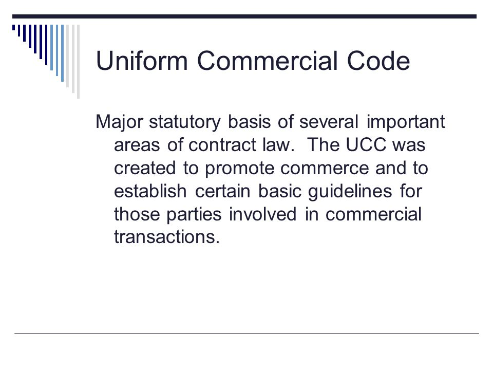 uniform commercial code Act 18 of 2001, the uniform commercial code modernization act of 2001, was signed into law on june 8, 2001 this act was effective on july 1, 2001.