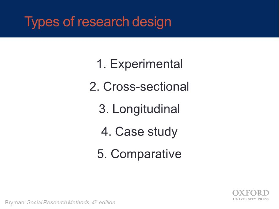 Case study design of experiments