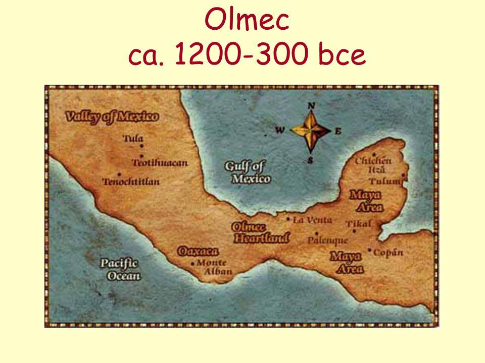 Olmec ca. 1200-300 bce