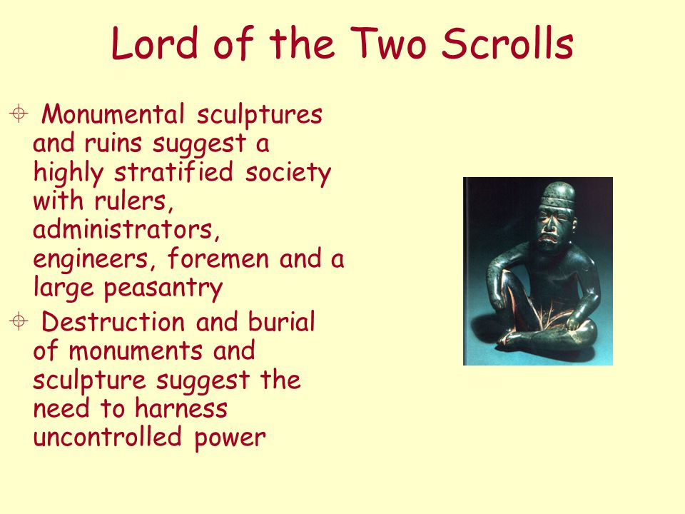 Lord of the Two Scrolls