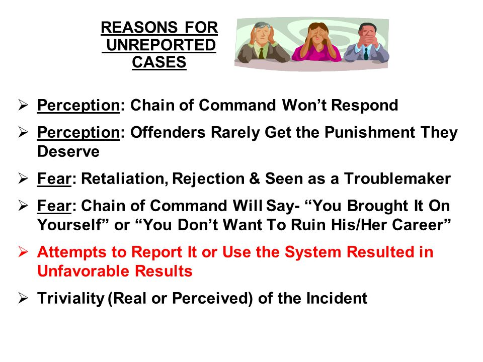 REASONS FOR UNREPORTED CASES
