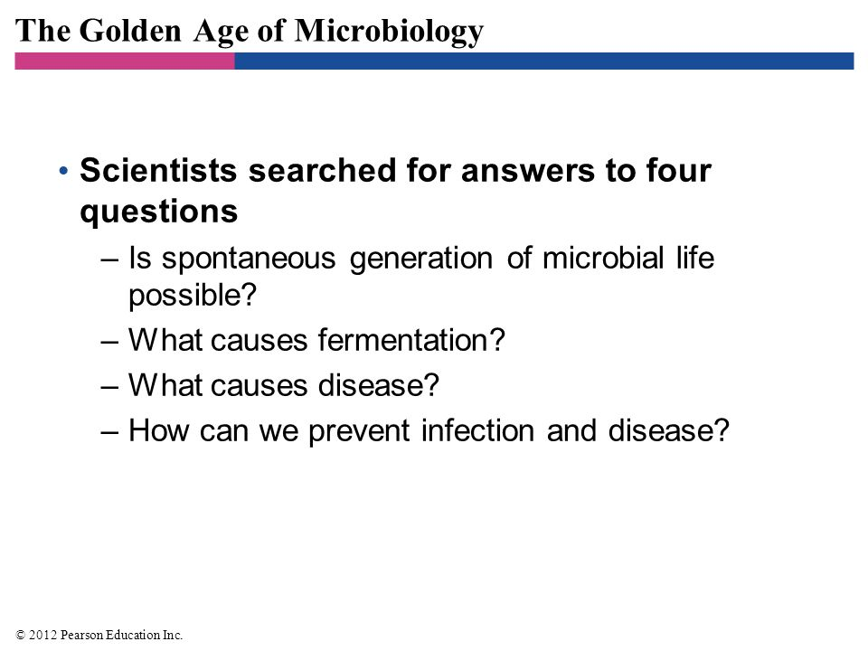 The Golden Age of Microbiology