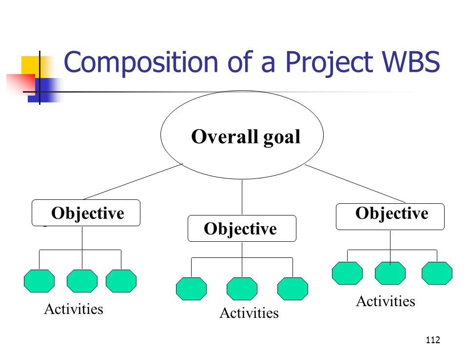 Composition of a Project WBS