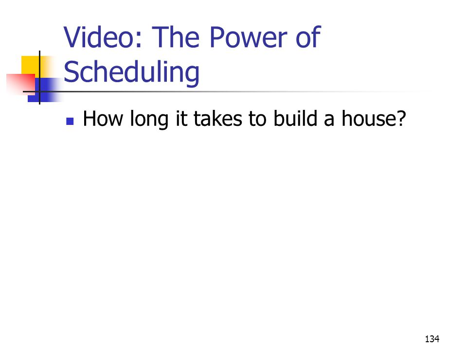 Video: The Power of Scheduling