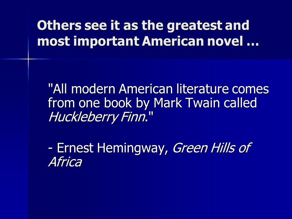 Twain's Warning: