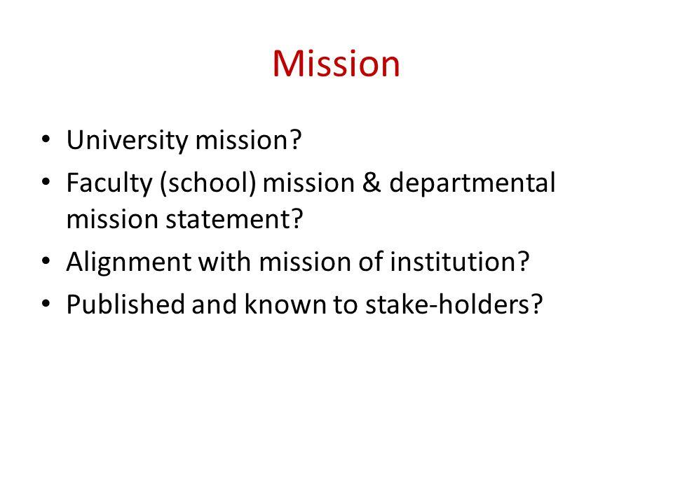 Mission University mission