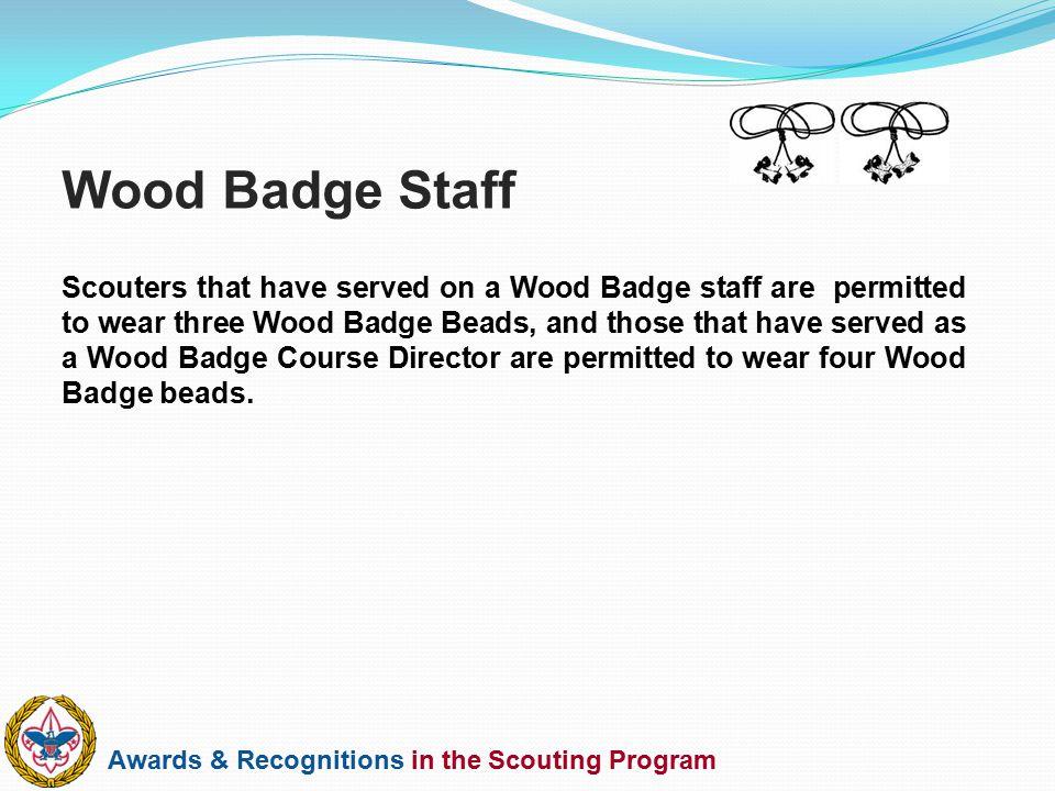 Wood Badge Staff