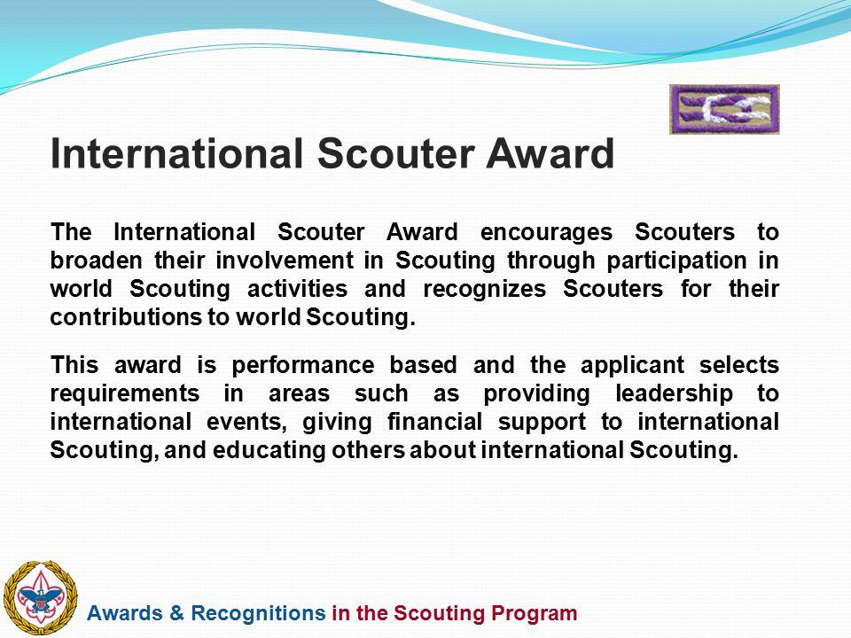 International Scouter Award