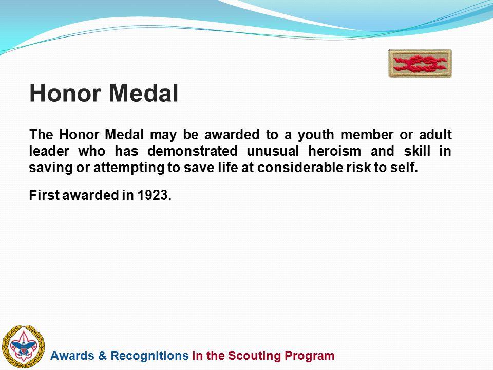 Honor Medal