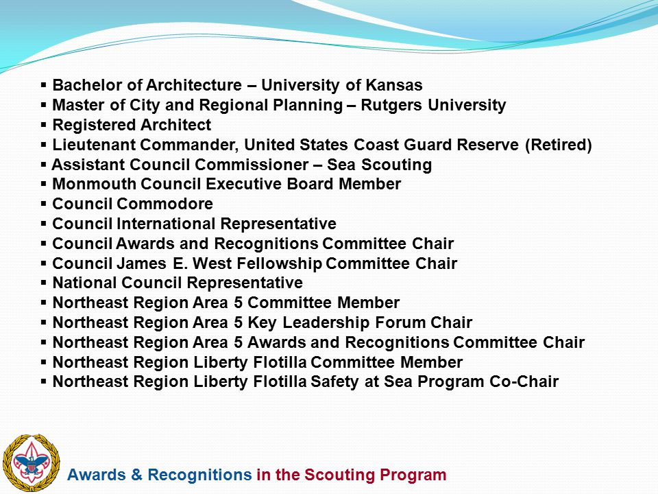 Bachelor of Architecture – University of Kansas