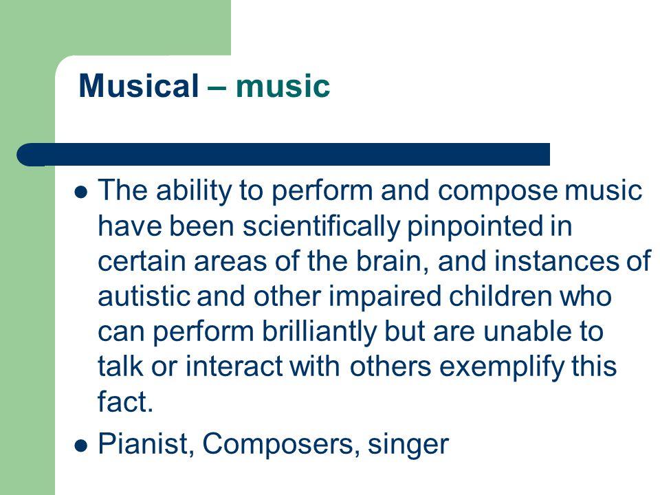 Musical – music