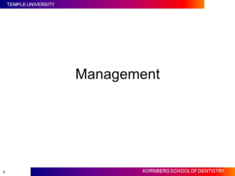Management Slide #4 First, let us focus on management of organizations.