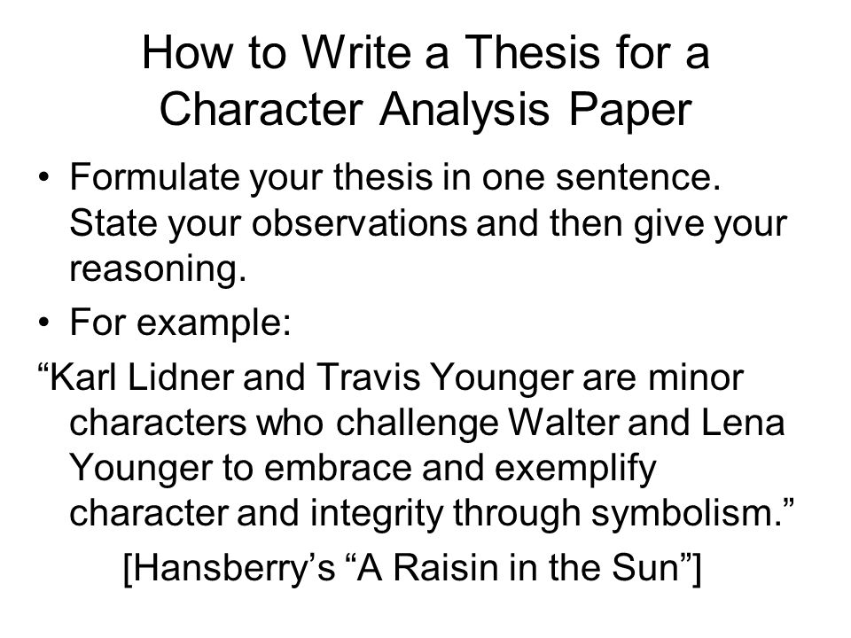 character analysis paper Character analysis essay harry potter (creative writing starters ks2) is sports betting profitable categories sports betting uncategorized.