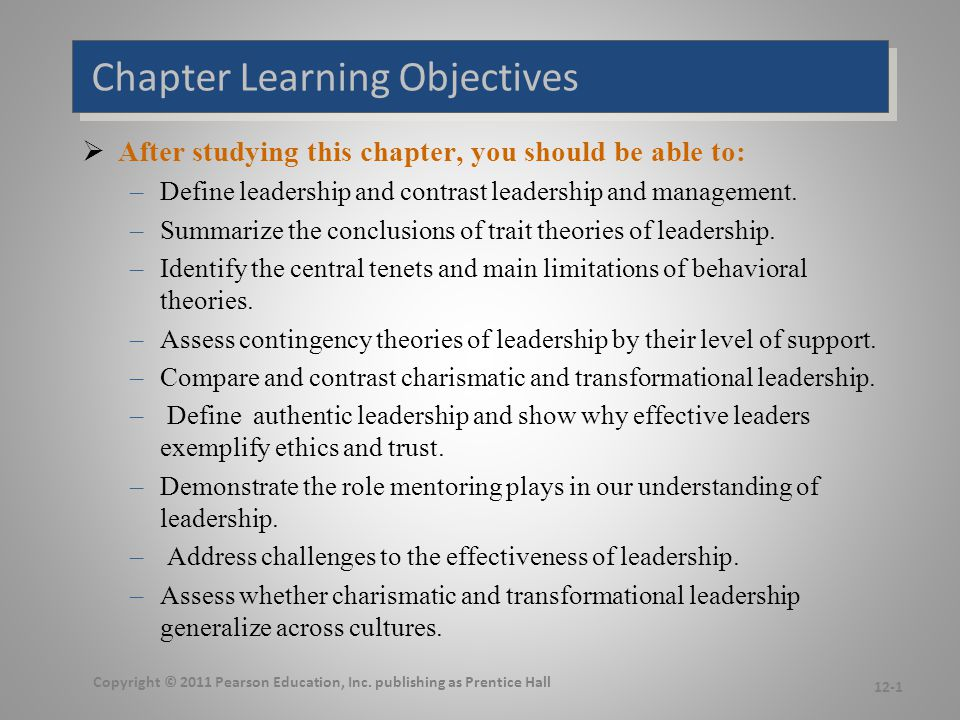 What Is Leadership Leadership Management