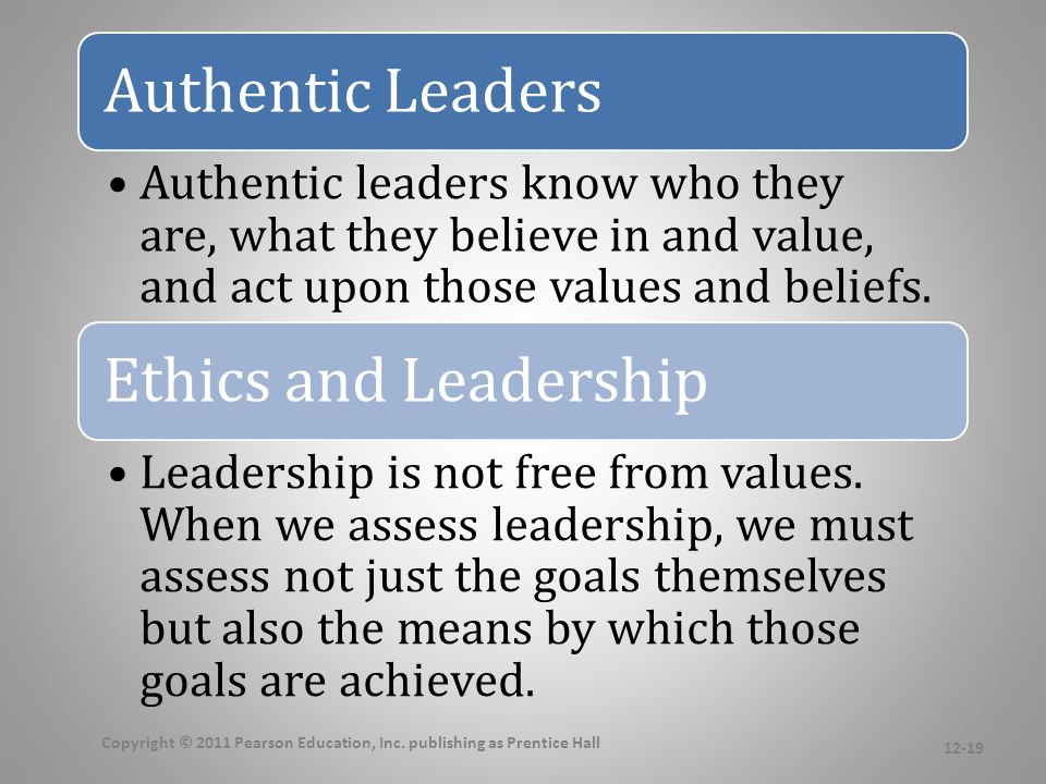Trust and Leadership