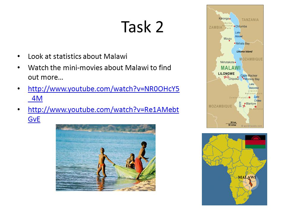 Task 2 Look at statistics about Malawi