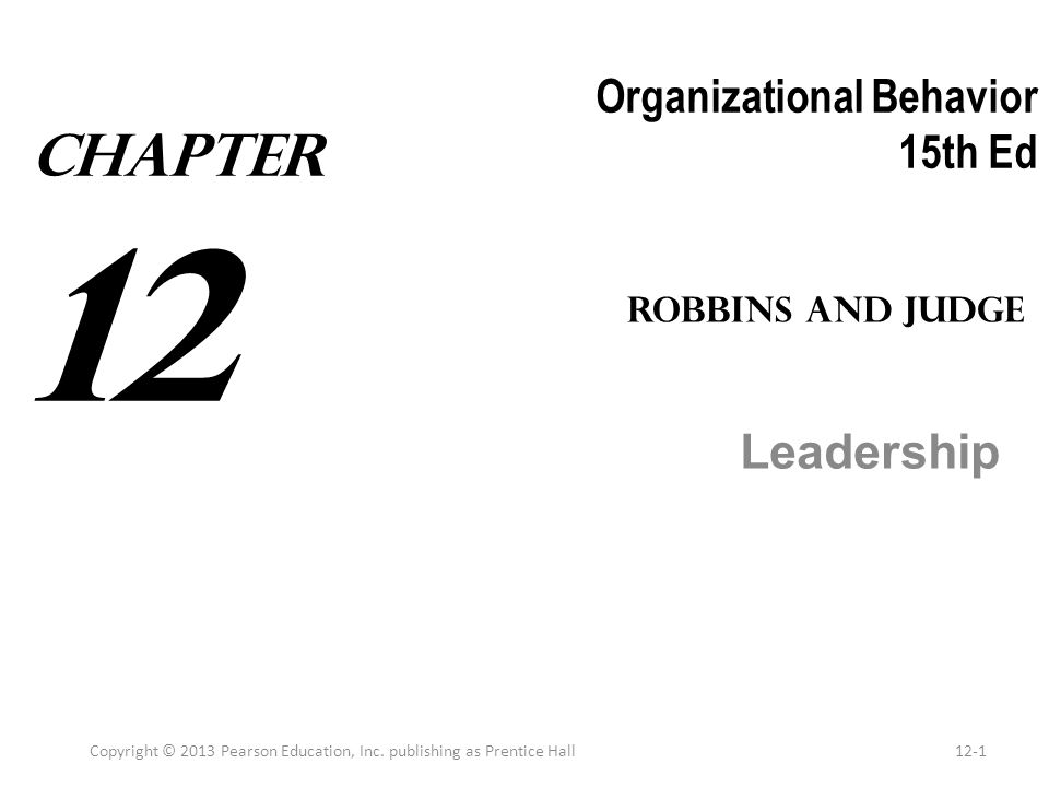 organizational behavior 15 e robbins judge Quizlet provides organizational behavior robbins activities, flashcards and games start learning today for free.