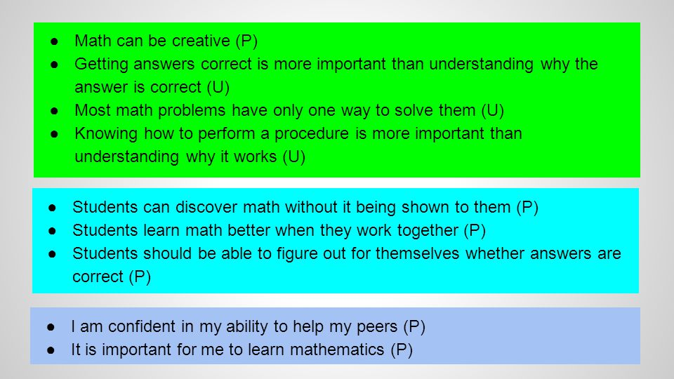 Math can be creative (P)