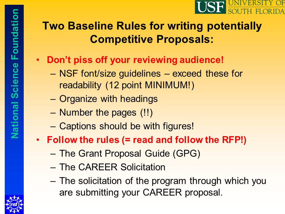 Nsf Faculty Early Career Development Career Program Ppt Video