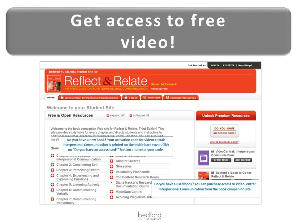 Get access to free video!