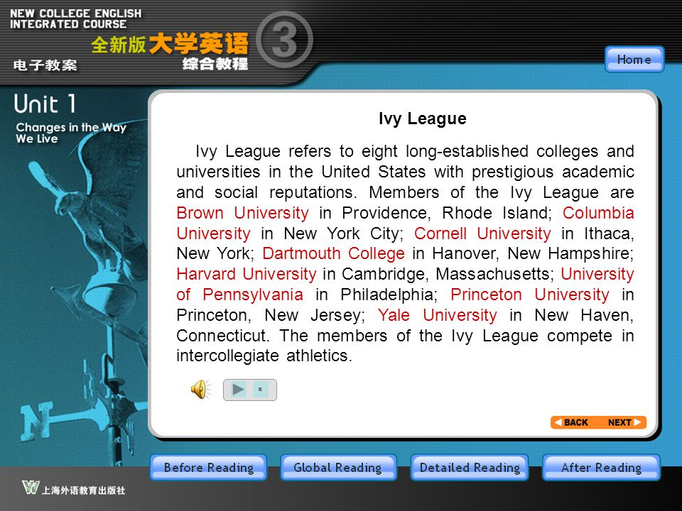 BR3.1 Ivy League.