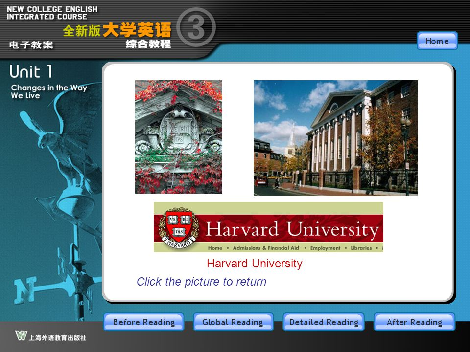 BR3.1.5 Harvard University Click the picture to return