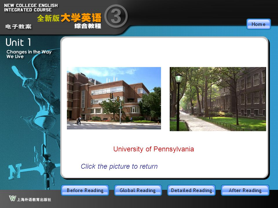 BR3.1.6 University of Pennsylvania Click the picture to return