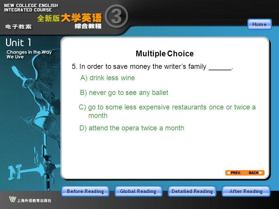 GR-Part3-M5 Multiple Choice