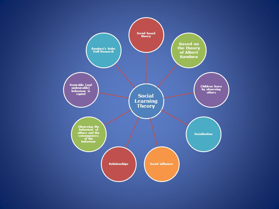 Select a child development theory which you consider to be important.