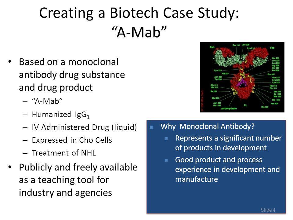 Creating a Biotech Case Study: A-Mab