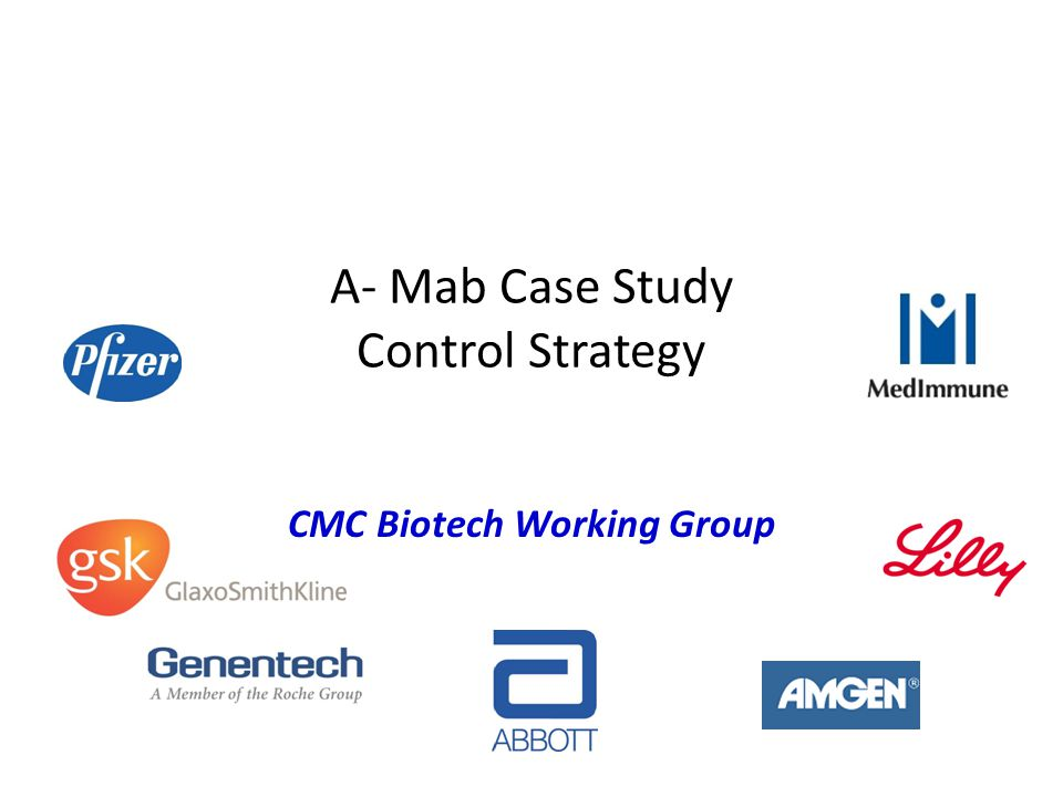 A- Mab Case Study Control Strategy
