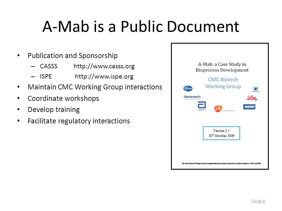 A-Mab is a Public Document