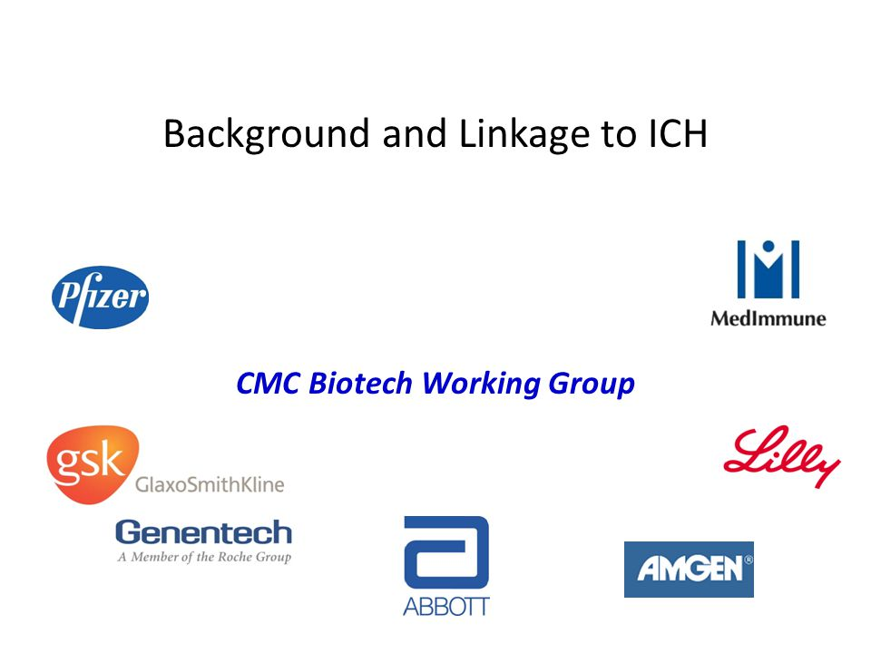 Background and Linkage to ICH