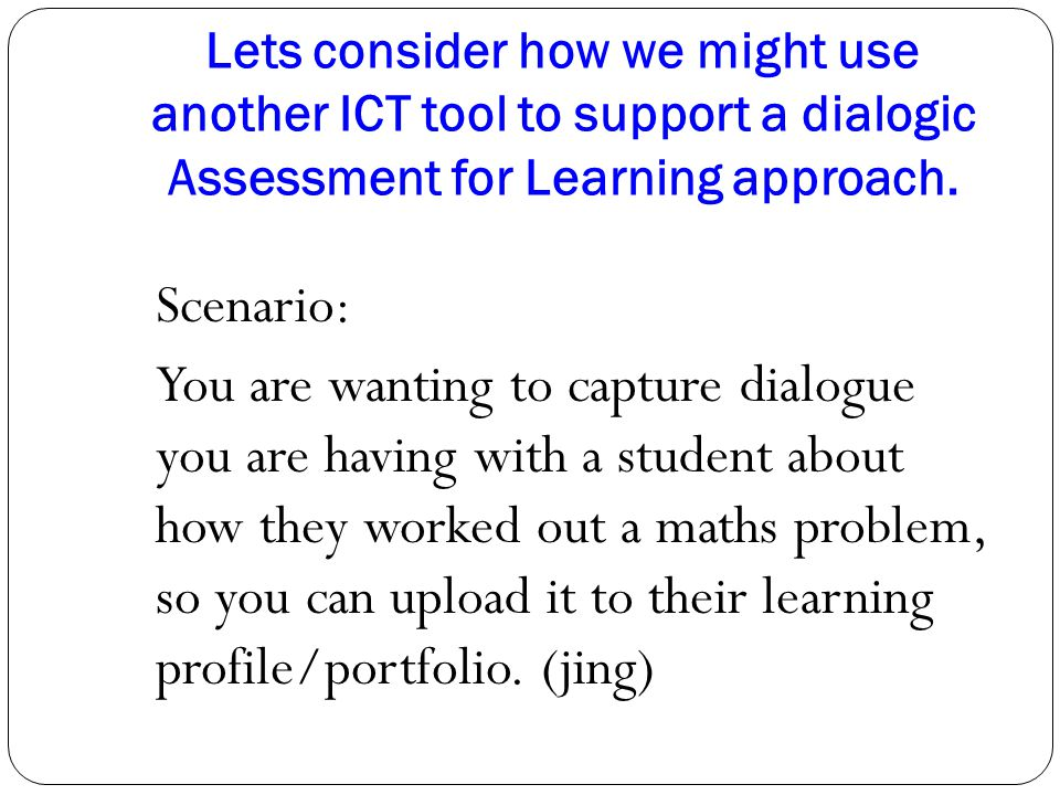 support assessment for learning Unit 307 support assessment for learning 11 compare and contrast the roles of the teacher and the learning support practitioner and assessment of.