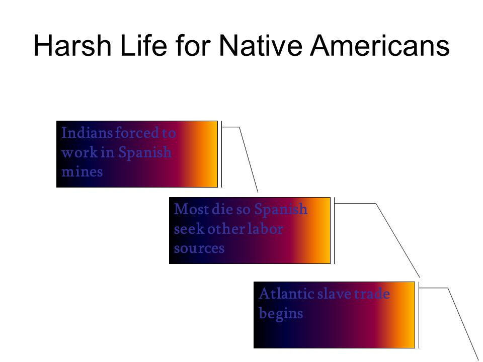 Harsh Life for Native Americans