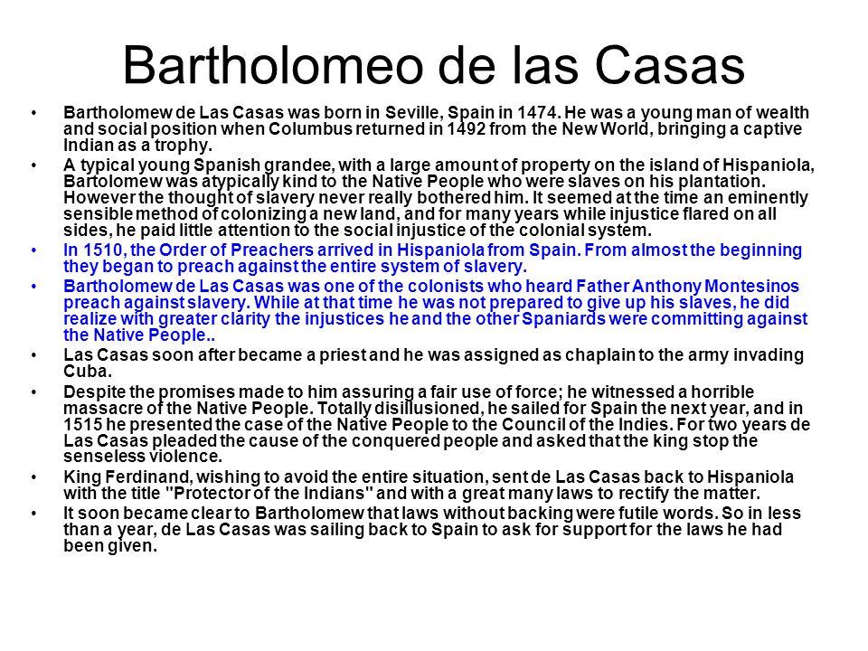 Bartholomeo de las Casas