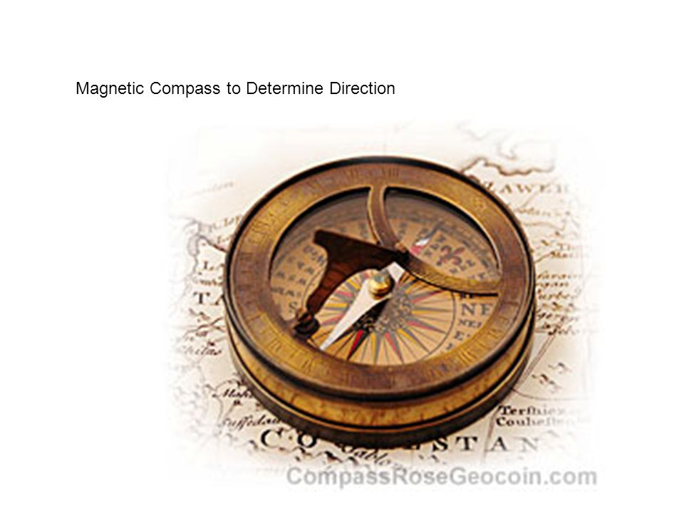 Magnetic Compass to Determine Direction